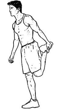 Standing Quadricep Stretch1